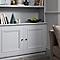 Peinture résistante murs, boiseries et métal GoodHome gris Brooklyn mat 0,75L