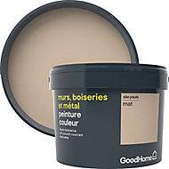 Peinture résistante murs, boiseries et métal GoodHome beige Sao Paulo mat 2,5L