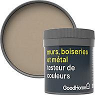 Testeur peinture résistante murs, boiseries et métal GoodHome beige Rosario mat 50ml