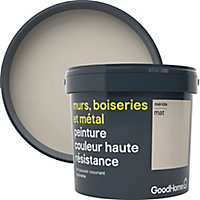 Peinture résistante murs, boiseries et métal GoodHome beige Mérida mat 5L