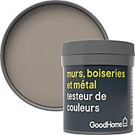 Testeur peinture résistante murs, boiseries et métal GoodHome beige Caracas mat 50ml