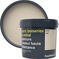 Peinture résistante murs, boiseries et métal GoodHome beige Puebla mat 5L