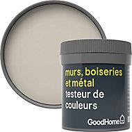 Testeur peinture résistante murs, boiseries et métal GoodHome beige Tijuana mat 50ml