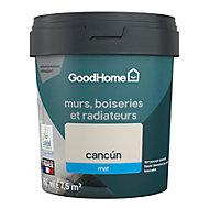 Peinture résistante murs, boiseries et métal GoodHome beige Cancun mat 0,75L