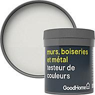 Testeur peinture résistante murs, boiseries et métal GoodHome blanc Vancouver mat 50ml
