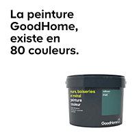Peinture résistante murs, boiseries et métal GoodHome blanc Toronto satin 2,5L