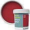 Peinture murs et boiseries GoodHome rouge Chelsea satin 0,75L