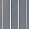 Store banne manuel autoportant gris anthracite et blanc 4 X 3 m