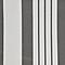 Store banne manuel sans coffre polyester gris et blanc 3,95 x 3 m