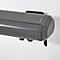 Store banne coffre intégral gris clair 4,8 X 3 m