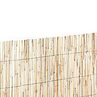 Brise-vue naturel paillon pelé 3 x h.1,8 m