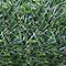 Brise-vue artificiel 3 couleurs Blooma vert 3 x h.1,2 m