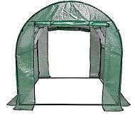 Serre De Jardin Serre De Jardin Tunnel Et Voile D Hivernage Castorama Fr