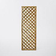 Treillis carré en pin avec cadre 61 x h.183 cm