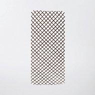 Treillis extensible en saule noir 180 x 90 cm
