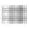 Treillis carré en métal noir 90 x h.120 cm