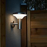 Applique extérieure LED Blooma Carson chrome IP44