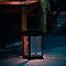 Lanterne solaire LED Cage noir IP44