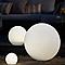 Boule lumineuse solaire LED Blooma Hansbodo blanc et RVB Ø30 cm IP65
