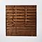 Panneau droit bois Blooma Arve marron 30mm 180 x h.180 cm