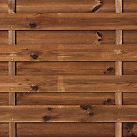 Panneau arc bois Blooma Arve marron 30mm 180 x h.180 cm