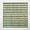 Panneau droit bois vert 25mm 180 x h.180 cm
