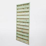 Panneau droit bois vert 25mm 90 x h.180 cm