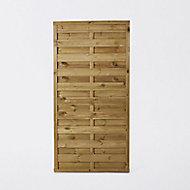 Panneau droit bois Blooma Douro vert 35mm 90xh.180 cm