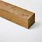 Poteau en bois Blooma vert 7 x 7 x h.240 cm