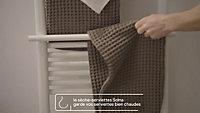 Sèche-serviettes électrique GoodHome Solna blanc 750W