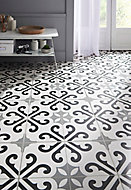 Carrelage sol décor carreaux de ciment Lacanau 45x45 cm
