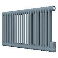 Radiateur électrique à inertie fluide GoodHome Mermoz bleu 1800W horizontal