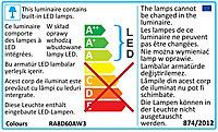 3 Spot à encastrer LED 2 en 1 avec interrupteur Colours Thorold rond métal blanc IP20 Ø8,5cm