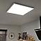 Panneau LED IP20 Blanc neutre 60 x 60 cm métal blanc