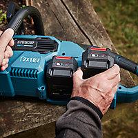 Tronçonneuse sur batterie Erbauer ECSG18-Li 2 18V guide 30 cm (sans batterie)