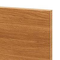 Porte de meuble de cuisine GoodHome Chia chêne fumé l. 29.7 cm x H. 71.5 cm
