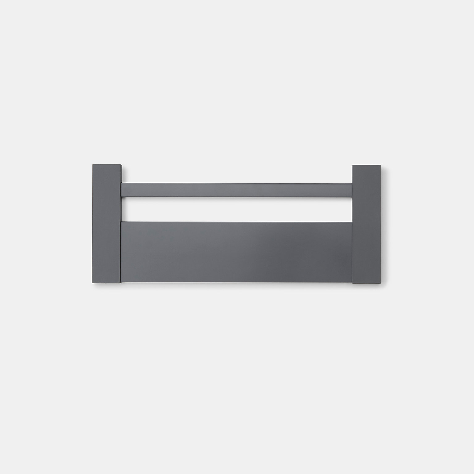 Façade de casserolier GoodHome Soto Anthracite 12 cm