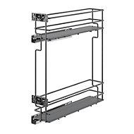 Rangement coulissant pour meuble de cuisine GoodHome Pebre 15 cm, 2 niveaux