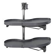 Rangement coulissant d'angle pour meuble de cuisine GoodHome Pebre 80 cm, gauche