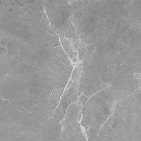 Crédence de cuisine aspect marbre gris GoodHome Algiata l. 300 cm x H. 60 cm x Ep. 8 mm