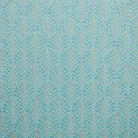 Papier peint vinyle sur intissé Lunaria vert