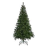 Sapin artificiel Woodland pine, embout courbé, 7 pieds h.213 cm