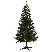 Sapin artificiel Woodland pine, embout courbé, 6 pieds h.183 cm