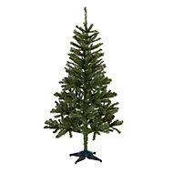 Sapin artificiel Woodland pine, embout courbé, 5 pieds h.152 cm