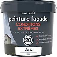 Peinture façade autonettoyante Premium GoodHome blanc 5L