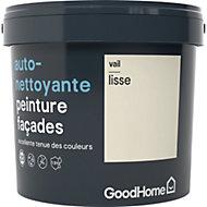 Peinture façade autonettoyante Premium GoodHome crème Vail 5L