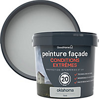 Peinture façade autonettoyante Premium GoodHome gris Oklahoma 5L