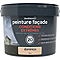 Peinture façade autonettoyante Premium GoodHome beige Dominica 10L