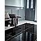 Carrelage sol noir poli 60 x 60 cm Livourne 2 (vendu au carton)