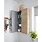 Armoire de salle de bains GoodHome Imandra bois L.60 x H.90 x P.15 cm